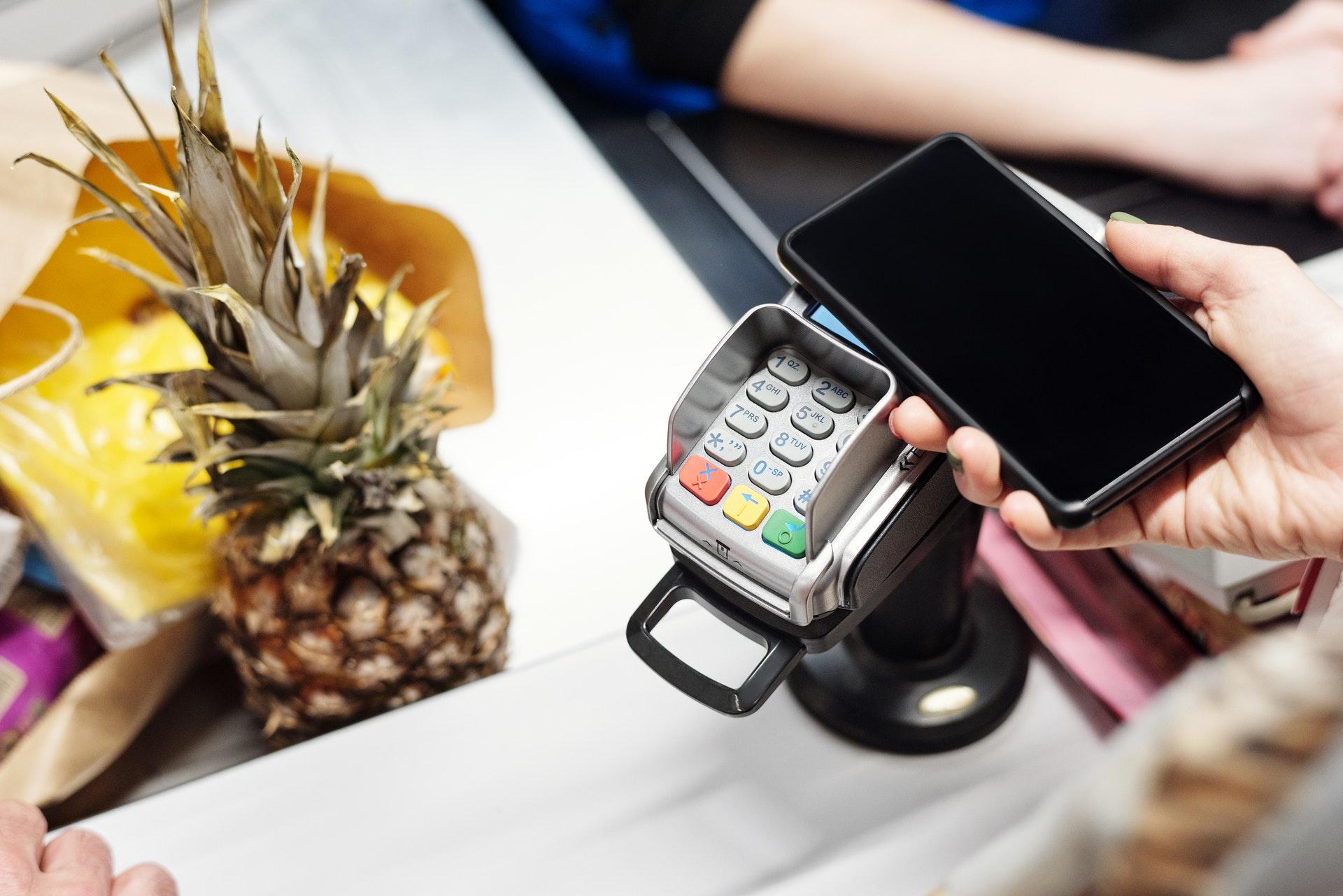 paiement par téléphone en cryptomonnaie des courses